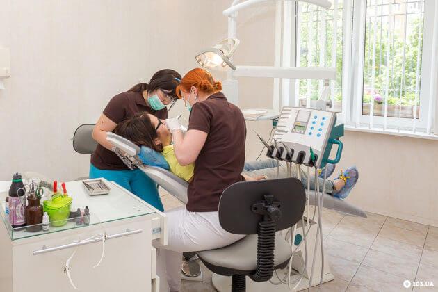 Стоматология Киев Позняки Осокорки Сити Дент Кабинет стоматологической клиники